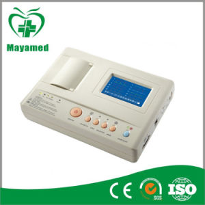 ECG Machine with 200 ECG Data Storage and SD Card Support (MA1203) pictures & photos