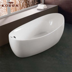 Simple Freestanding Acrylic Bathtub K1562 pictures & photos