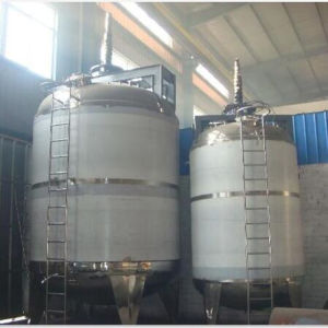 Double Jacketed Tank for Milk Beverage Chemistry, Pharmacy Industry pictures & photos