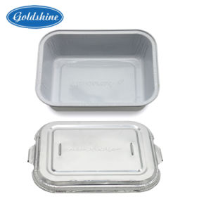 Aluminium Foil Airline Food Packaging Container Lunch Box pictures & photos