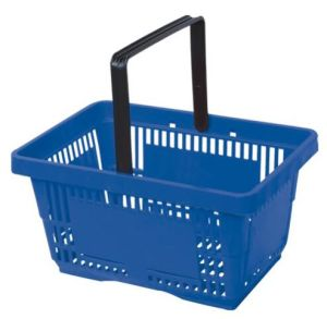 Plastic Shopping Basket pictures & photos