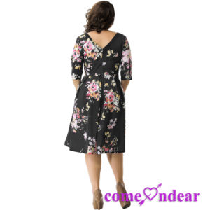 Dropshipping Two Color Four Size in Stock Women Plus Size Clothes pictures & photos