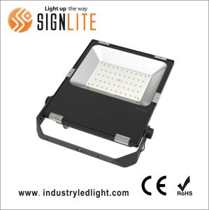 Super Slim High Lumens 20W LED Floodlight with Meanwell Driver pictures & photos