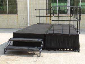 Rk Aluminum Folding Stage Steel Portable Stage for Outdoor Event pictures & photos