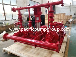 Nfpa20 Listed End Suction Fire Pump Package pictures & photos
