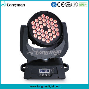 IP20 DMX 36*10W RGBW LED Beam Moving Head for Disco pictures & photos