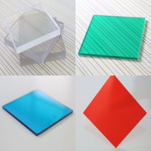 4X8 Plastic Polycarbonate Flat Solid Sheet for Sound Proof Panels pictures & photos
