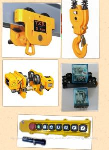 500kg-10 Ton Electric Chain Hoist with Low Headroom pictures & photos