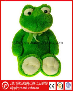 Cute Green Plush Toy of Graduation Frog pictures & photos