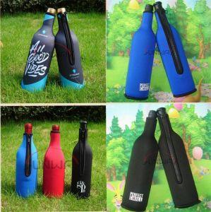 Neoprene Wine Bottle Cooler Bag, Custom Printed Bottle Holder (BC0006) pictures & photos