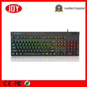 Professional USB Wired Gaming Mechanical Keyboard pictures & photos