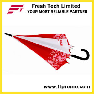 23*8k Auto Open Straight Umbrella with Logo pictures & photos