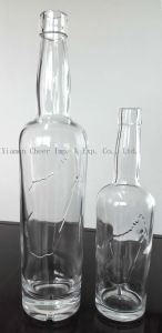 Clear Color White Glass Wine Bottle From China Factory Direct Sale pictures & photos
