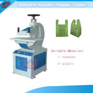 Plastic Nonwoven Hydraulic Punching Machine pictures & photos