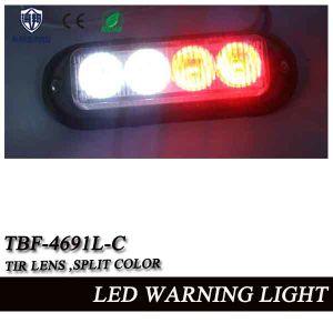 Split Color LED Auto Grille Lightheads for Ambluance or Police Car (TBF-4691L-C) pictures & photos