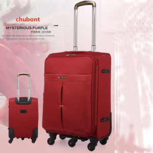 High Quality Chubont Expandable Waterproof Soft Suitcase pictures & photos