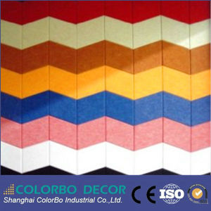 Suspended Mineral Fiber Polyester Acoustic Panel Ceiling Tile pictures & photos