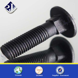Grade 8.8 Black Surface Carriage Bolt pictures & photos
