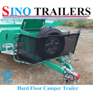 Heavy Duty Rear Open Camper Trailer pictures & photos