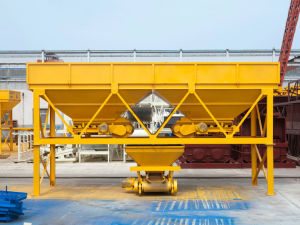 Two Hoppers Cement Sand Batching Machine, PLD800 Aggregate Batcher pictures & photos