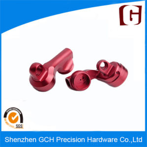 Red Color Anodizing Aluminum CNC Machining Parts