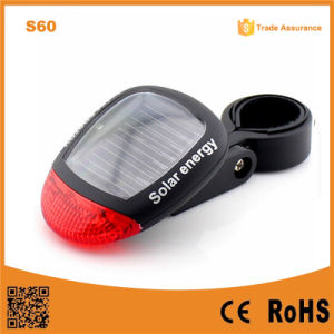S60 Solar Energy Bike Light Turn Signal Bicycle Tail Light pictures & photos