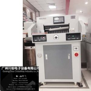 Hydraulic Pressured Paper Cutter 480 for Photo Album Films pictures & photos