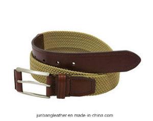 Unisex Fashion Sports Leisure Elastic Polyester Webbing Belt, Braided Elastic Stretch Belt