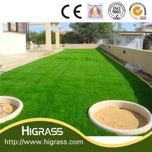 Premium Natural Green C Shape Landscape Artificial Grass pictures & photos