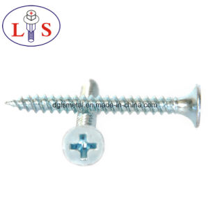 Factory Price High Quality Carbon Steel Zinc Plated Csk Head Screws pictures & photos