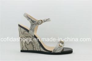 Sexy Design Wedge Heel Women Fashion Sandal pictures & photos