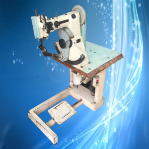 Used Semlima Double Thread Seated Lockstitch Shoe Border Insole Sewing Machine (CP-168) pictures & photos
