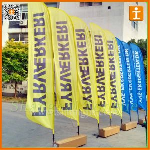 Company Logo Promotional Blade Beach Wind Flag (TJ-41) pictures & photos