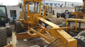 Shanghai-Located Original-Yellow-Paint Used USA-C7-Engine Mobile Caterpillar 140g Motor Grader pictures & photos