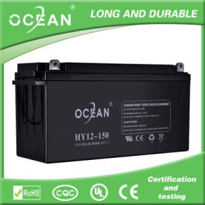 Rechargeabl Gel 12V 150ah Battery with 15 Years Lifespan