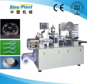 Professional Manufacturer of Automatic PLC Controlled Lid Thermoforming Machine