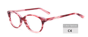 Acetate Eyeglass Optical Frame, Fashion Syle Ready in Stock (JC9017)