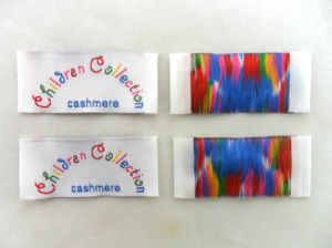 Wholesale Clothing Silks Tag Labels for Clothes pictures & photos