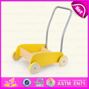 2015 New Wooden Kids Play Cart for Christmas Gift, Multifunctional Wooden Baby Carriage, Colorful Wooden Cart Toy in Bulk W16e028b pictures & photos