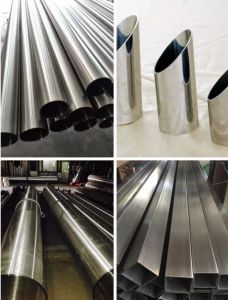 Stainless Steel Seamless Tube AISI 201 Polished Finish pictures & photos
