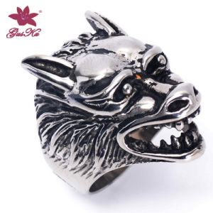 High Quality Stainless Steel Fashion Accessories Ring Gus-Stfr-022 pictures & photos