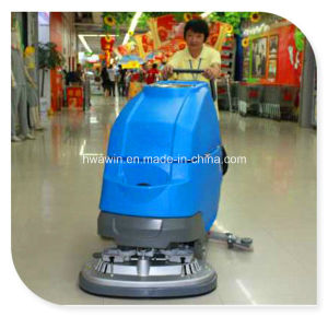 Hand Push-Type Floor Scrubber Cleaning Machine pictures & photos