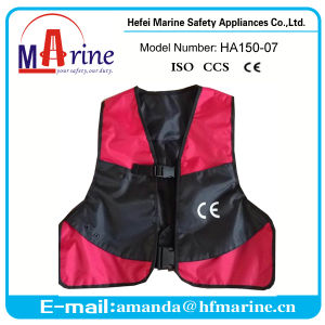 Water Sports Life Saving Inflatable Life Jacket for Adult pictures & photos