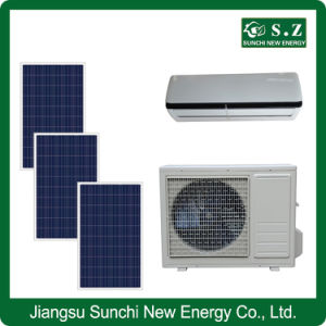 Acdc Hybrid Room Use High Quality Air Conditioner Solar Panel pictures & photos