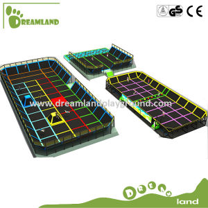 China Professional Manufacturer Be Customized Kids Indoor Trampoline Bed for Amusement Park pictures & photos
