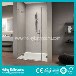 Compact Walking in Shower Screen Mounted on Floor (SB202N) pictures & photos