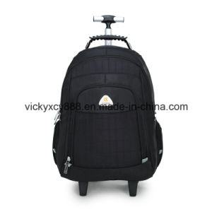 High Quality Wheeled Trolley Laptop Computer Backpack Pack Bag (CY6910) pictures & photos