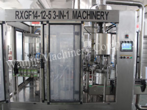 3000bph Hot Juice Washing Filling Capping Machinery pictures & photos