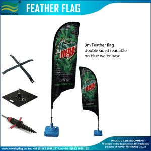 Full Printed Polyester Beach Flag, Flying Banners & Accessories (J-NF04F06057) pictures & photos