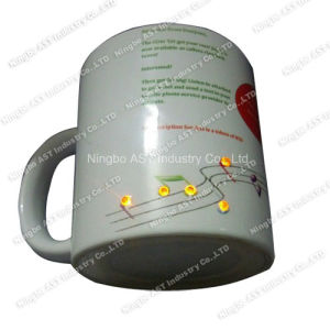 LED Mug, Christmas Mug, Promotion Gift, Ceramic Cup with LED pictures & photos